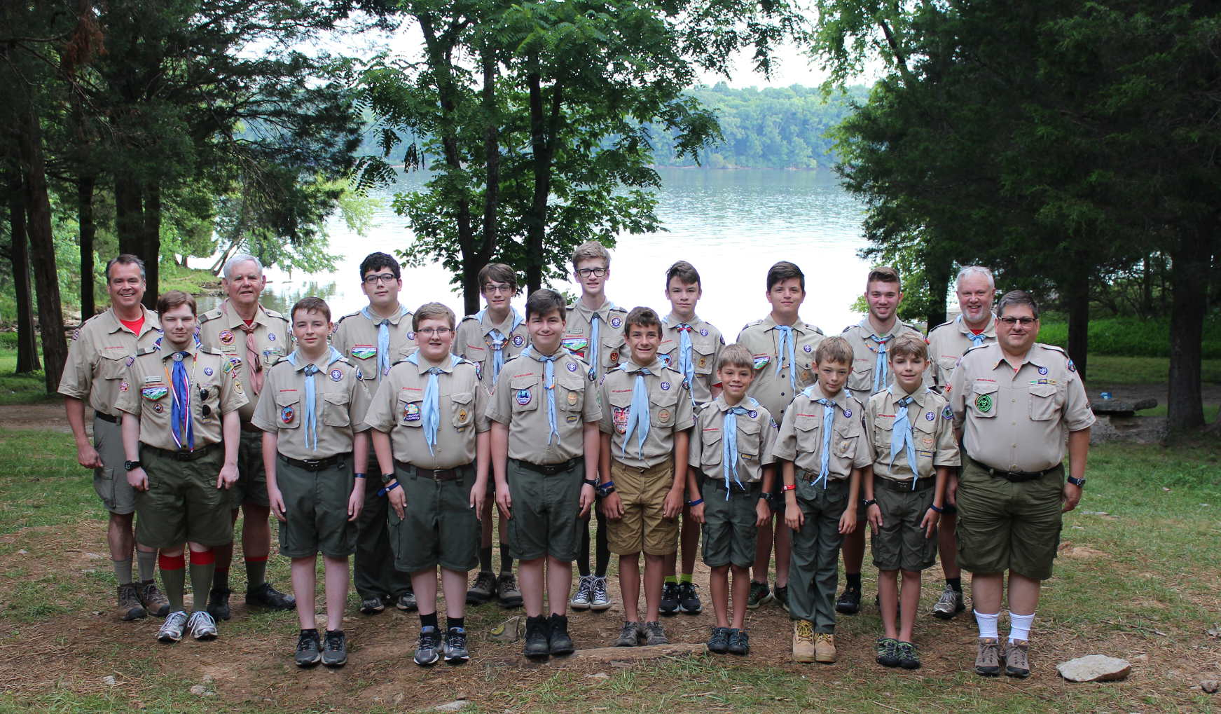 Bozwell photo for Troop 81 camp June                             2017